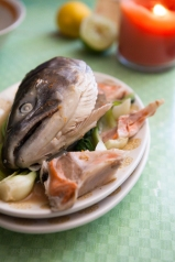 Salmon Fish Head